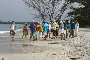 Dr. Bill Dunson discussed beach ecology